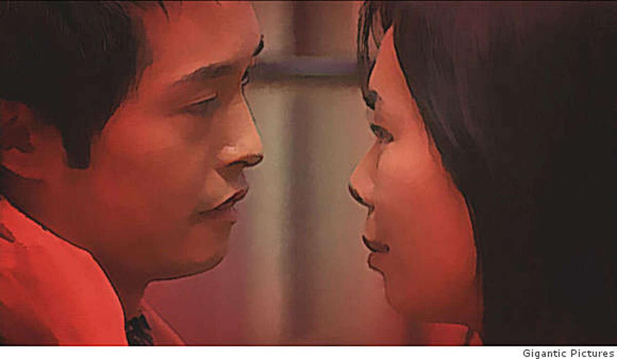 Ye Xian (An Nguyen) and Johnny Pan (Ken Leung) in