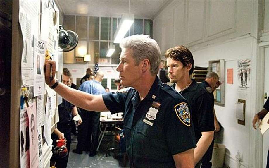 """Richard Gere and Ethan Hawke in """"Brooklyn's Finest."""" Photo: Overture Films"""