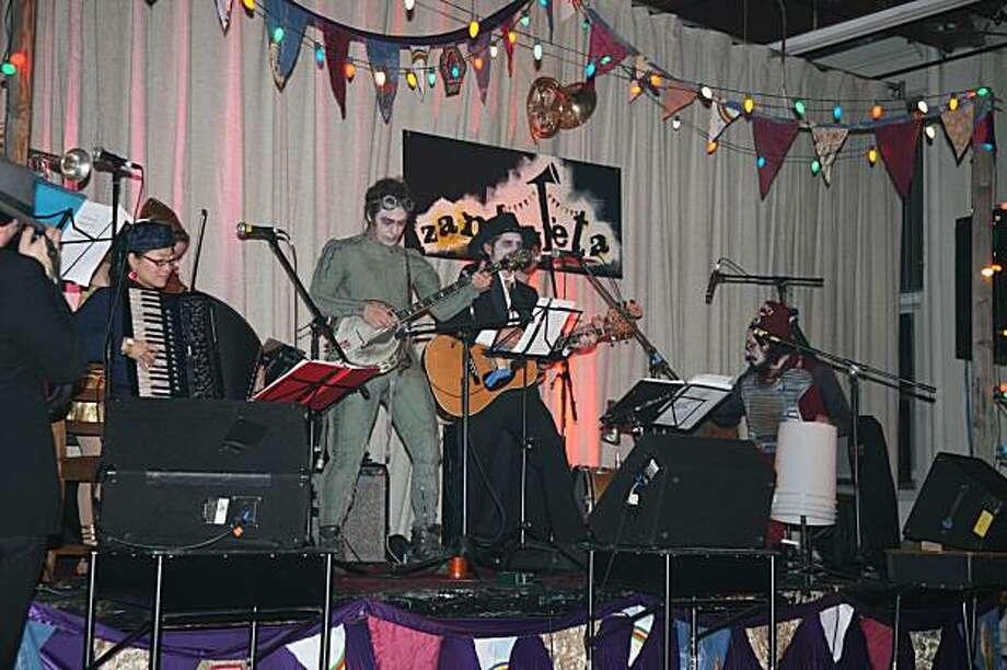 "Celebrate ""Carnaval"" at Zambaleta with music, dance, costumes and food. Photo: Courtesy Of Zambaleta"