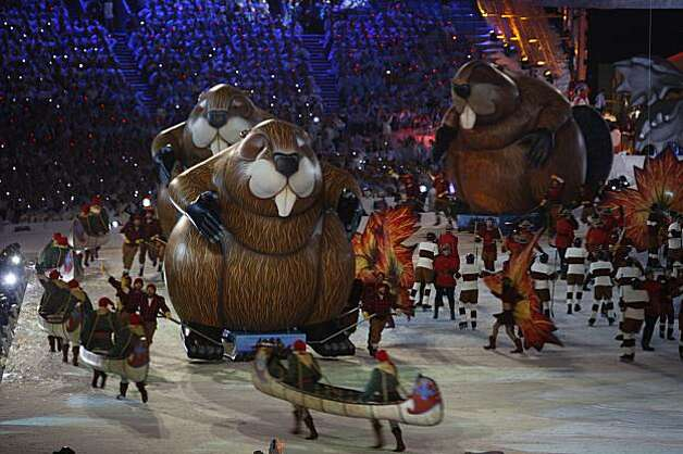 Closing Ceremonies of the Winter Olympic Games in Vancouver, British Columbia, on Sunday, Feb. 28, 2010. Paul Chinn/Chronicle Olympic Bureau Photo: Paul Chinn, The Chronicle