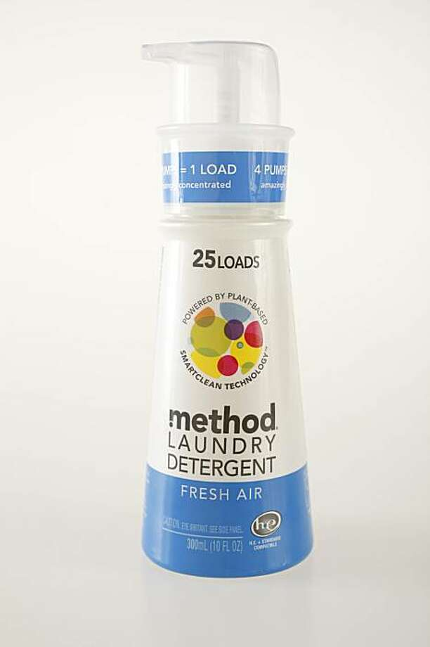 Method Laundry Detergent, powered by plant-based smartclean technology in San Francisco, Calif., on January 13, 2010. Photo: Craig Lee, Special To The Chronicle