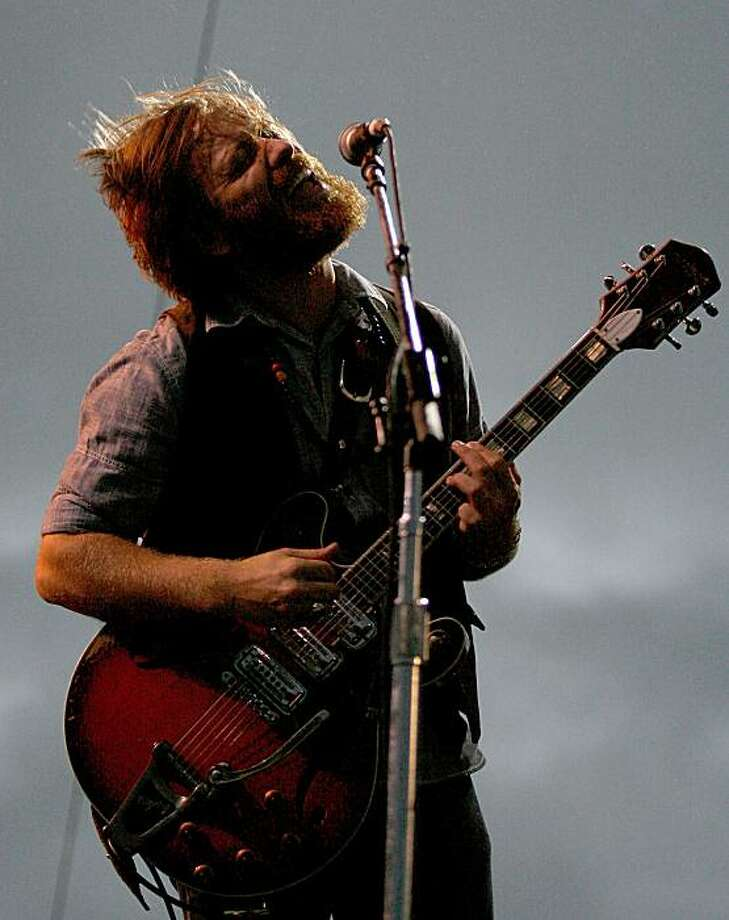 NEW ORLEANS - OCTOBER 30:  Dan Auerbach of the Black Keys performs during the 2009 Voodoo Experience at City Park on October 30, 2009 in New Orleans, Louisiana.  (Photo by Sean Gardner/Getty Images) Photo: Sean Gardner, Getty Images