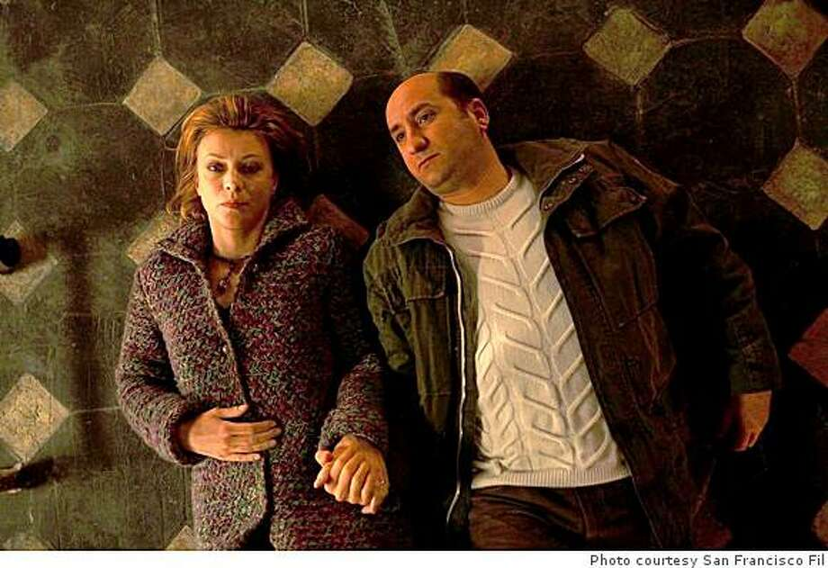 Margherita Buy and Antonio Albanese star in DAYS AND CLOUDS, opening on SFFS SCREEN at the Sundance Kabuki Cinemas August 29, 2008.Margherita Buy and Antonio Albanese star in DAYS AND CLOUDS, opening on SFFS SCREEN at the Sundance Kabuki Cinemas August 29, 2008. Photo: Photo Courtesy San Francisco Fil