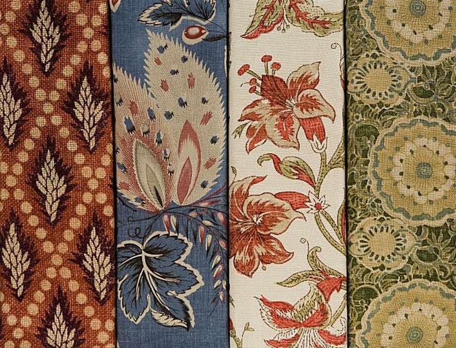 Suzanne Tucker's textile collection Photo: Suzanne Tucker Home