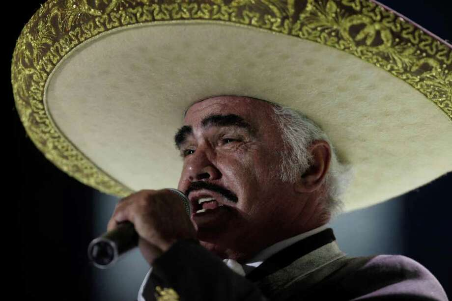 Vicente Fernandez. Courtesy photo Photo: Arnulfo Franco, ASSOCIATED PRESS / AP2008