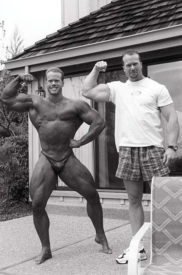 Jay McGwire (left) and Mark McGwire in 1996 in Contra Costa County. Photo: Courtesy Jay McGwire, Triumph Books