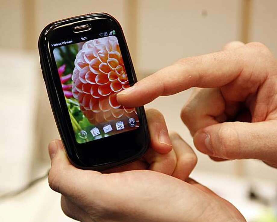 FILE - In this Jan. 26, 2010 file photo, a Verizon Palm Pre Plus phone is shown in Portland, Ore. As smart phones increasingly appear alike, with high-end models mostly taking their cues from Apple Inc.'s iPhone, more and more it's the software they run that makes a difference. Photo: Rick Bowmer, AP