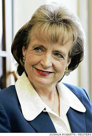 White House counsel Harriet Miers is seen in this October 20, 2005 file photo in Washington. Miers, whose nomination for the U.S. Supreme Court justice was withdrawn, has resigned effective Jan. 31, the White House said on Thursday. REUTERS/Joshua Roberts (UNITED STATES) Ran on: 01-05-2007 Harriet Miers was nominated by President Bush to the Supreme Court, but her name was withdrawn after intense criticism. Ran on: 03-17-2007 Gonzales ALSO Ran on: 06-14-2007 Harriet Miers Photo: JOSHUA ROBERTS, REUTERS