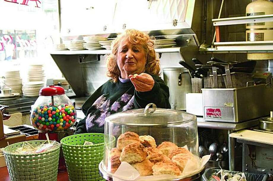 "Jean Joseph, waitress at Al's Good Food Cafe in San Francisco.  From the book, ""Counter Culture: The American Coffee Shop Waitress,"" by Candacy A. Taylor (Cornell University Press, 2009) Photo: Candacy  A. Taylor"