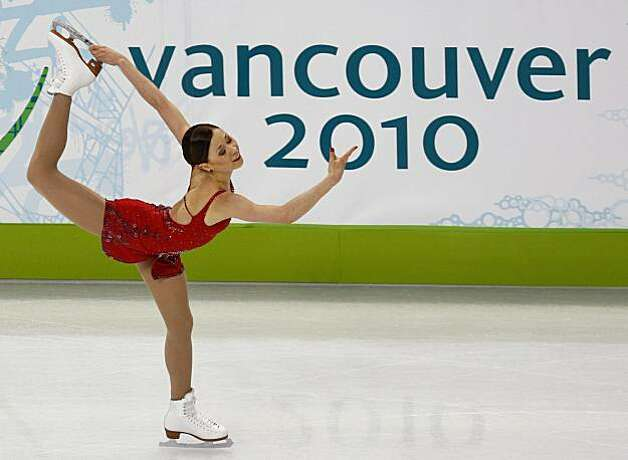 Laura Lepisto of Finland performs in the free program of the women's figure skating competition at the Winter Olympic Games in Vancouver, British Columbia, on Thursday, Feb. 25, 2010. Paul Chinn/Chronicle Olympic Bureau Photo: Paul Chinn, The Chronicle