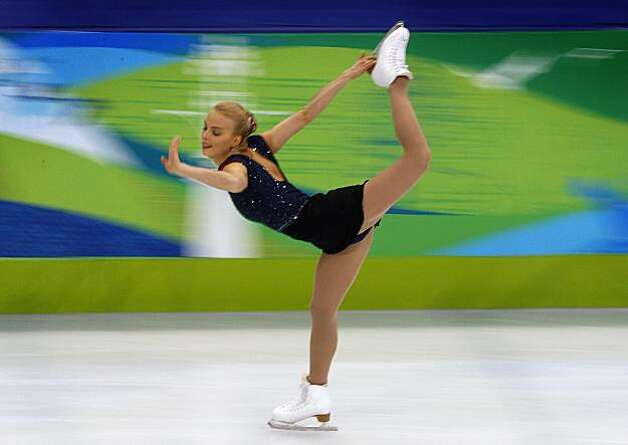 Kiira Korpi of Finland performs in the free program of the women's figure skating competition at the Winter Olympic Games in Vancouver, British Columbia, on Thursday, Feb. 25, 2010. Paul Chinn/Chronicle Olympic Bureau Photo: Paul Chinn, The Chronicle