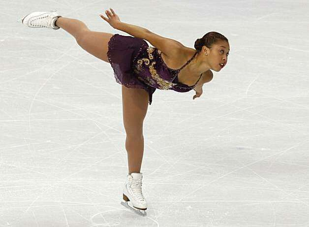 Cheltzie Lee of Australia performs in the free program of the women's figure skating competition at the Winter Olympic Games in Vancouver, British Columbia, on Thursday, Feb. 25, 2010. Paul Chinn/Chronicle Olympic Bureau Photo: Paul Chinn, The Chronicle