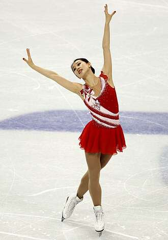 Yan Liu of China performs in the free program of the women's figure skating competition at the Winter Olympic Games in Vancouver, British Columbia, on Thursday, Feb. 25, 2010. Paul Chinn/Chronicle Olympic Bureau Photo: Paul Chinn, The Chronicle