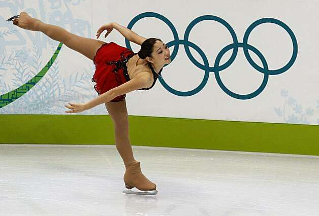 Mirai Nagasu of the United States performs in the free program of the women's figure skating competition at the Winter Olympic Games in Vancouver, British Columbia, on Thursday, Feb. 25, 2010. Paul Chinn/Chronicle Olympic Bureau Photo: Paul Chinn, The Chronicle