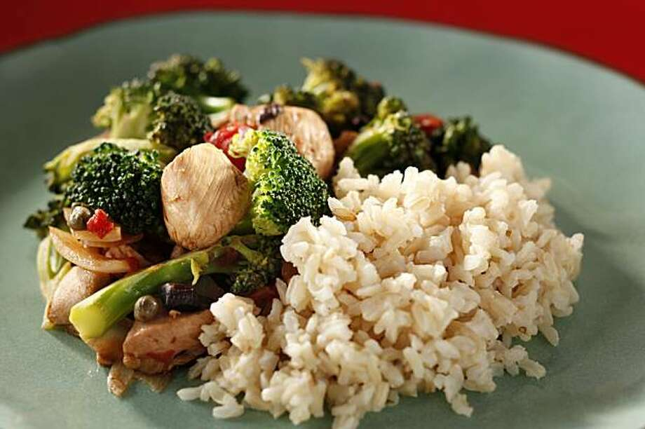 Chicken with Broccoli in San Francisco, Calif., on February 10, 2010. Food styled by Pailin Chongchitnant. Photo: Craig Lee, Special To The Chronicle