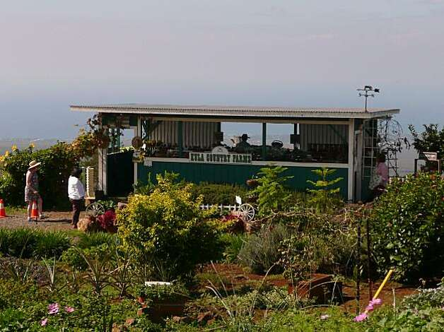 Kula Country Farms, a produce stand with a million dollar view, sells fruits and vegetables grown in Maui's fertile Upcountry region. John Flinn / Special to The Chronicle  1/10/10 Photo: John Flinn, Special To The Chronicle