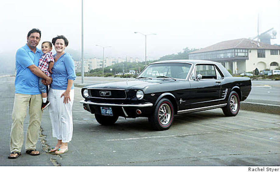Mike Caruso still remembers the first time he saw his family?s 1966 Mustang. ?To my disbelief, the car pulled into our driveway with my Dad behind the wheel,? explained Caruso. ?He knew exactly what I was thinking: Wow ? gorgeous ? and it?s ours!? Photo: Rachel Styer