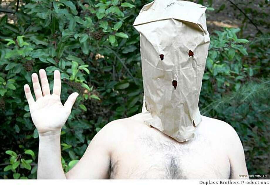 """A scene from the movie """"Baghead"""" (2008) Photo: Duplass Brothers Productions"""