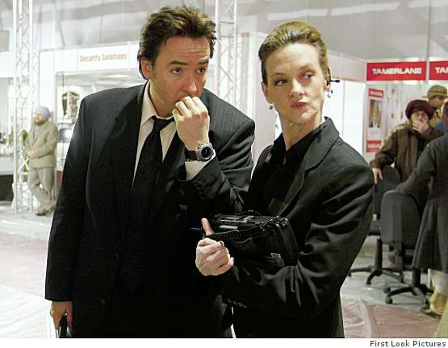 John Cusack and Joan Cusack in First Look Pictures' War, Inc. - 2008CR: First Look Pictures Photo: First Look Pictures