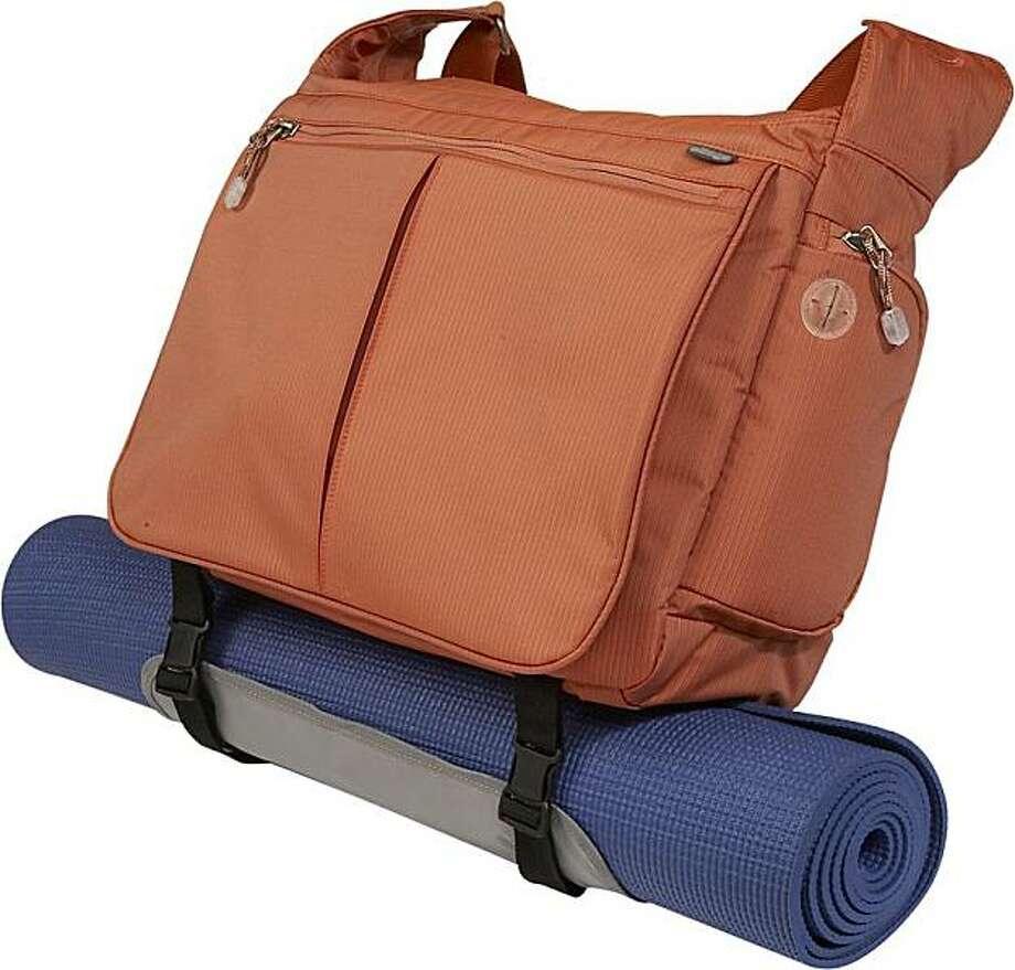 Kalya Town Square Yoga Tote messenger bag Photo: EBags