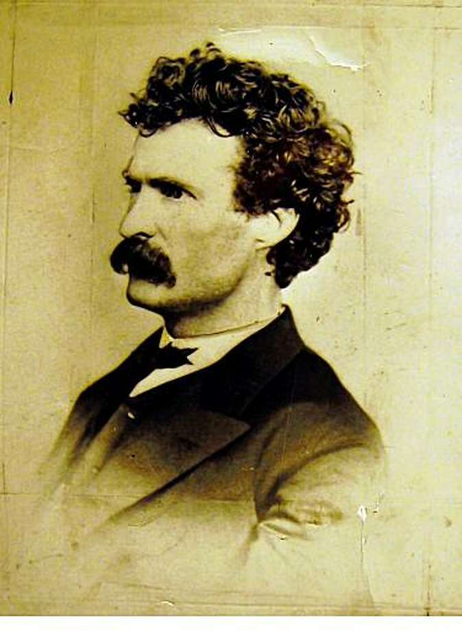 Samuel Clemens, aka Mark Twain.Photo taken in San Francisco.