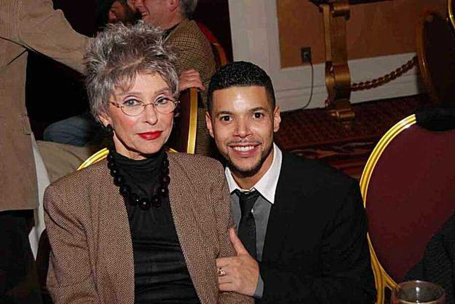 """The Richmond/Ermet AIDS Foundation presented """"All You Need Is Love,"""" a Help Is On The Way Valentine concert benefiting Lyon-Martin Health Services, Maitri and Sunburst Projects.   Pix J  Rita Moreno & Wilson Cruz  Photo by Steven Underhill Photo: Joseph Driste, Special To The Chronicle"""