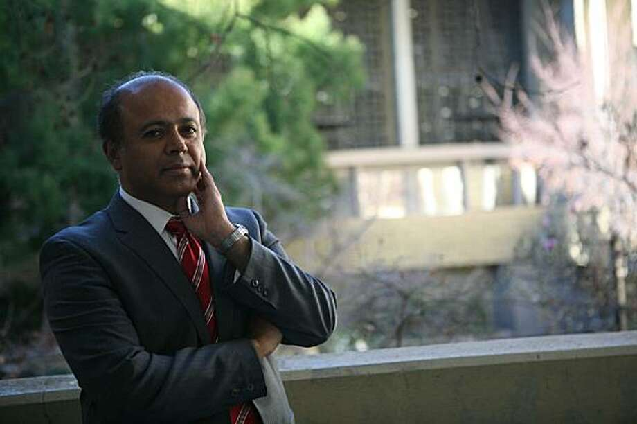 Dr. Abraham Verghese, Stanford Medical School professor and bestselling author, stands for a portrait in his office on Thursday, January 29, 2009 in Stanford, Calif. Photo: Mike Kepka, The Chronicle