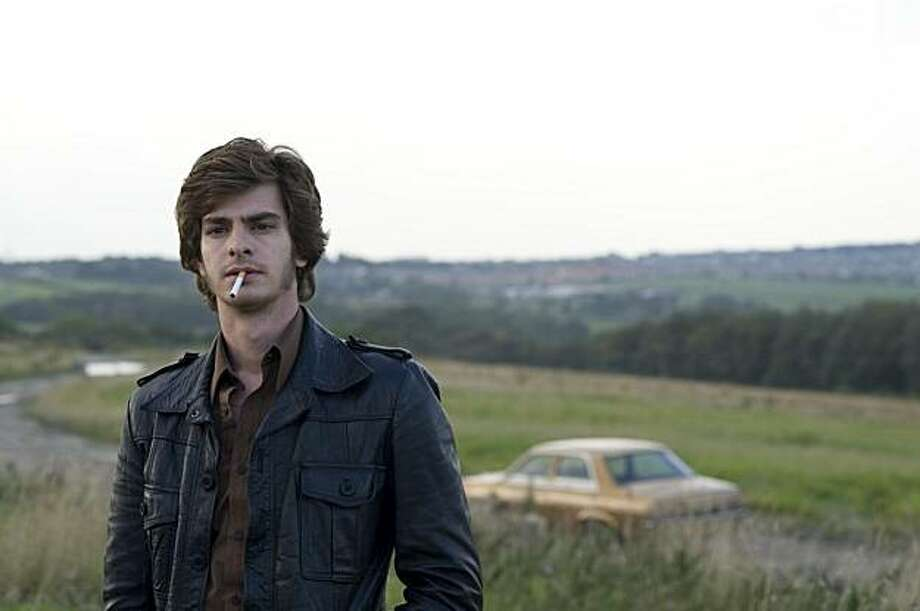 Andrew Garfield in RED RIDING: 1974 Photo: Channel Four Film