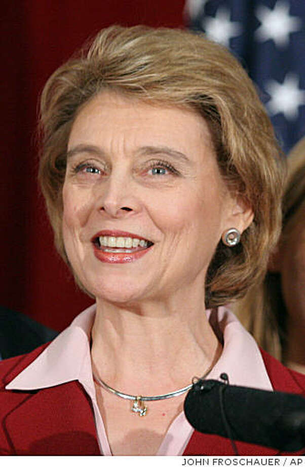 Democrat Christine Gregoire speaks during a news conference at the Statehouse in Olympia, Wash. after being declared Washington's governor-elect, Thursday, Dec. 30, 2004. (AP Photo/John Froschauer) Photo: JOHN FROSCHAUER, AP