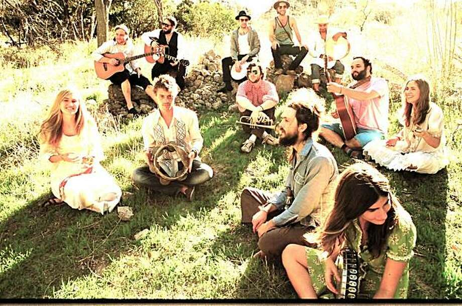 Edward Sharpe and the Magnetic Zeroes are one of the bands to watch at this year's Noise Pop Festival. Photo: Rough Trade
