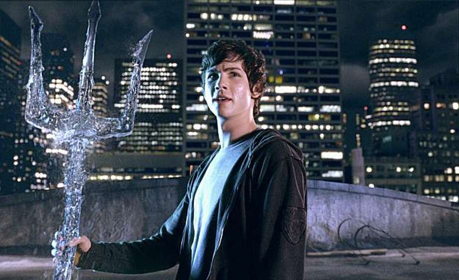 "In this film publicity image released by 20th Century Fox, Logan Lerman is shown in a scene from, ""Percy Jackson & the Olympians: The Lightning Thief."" Photo: AP"