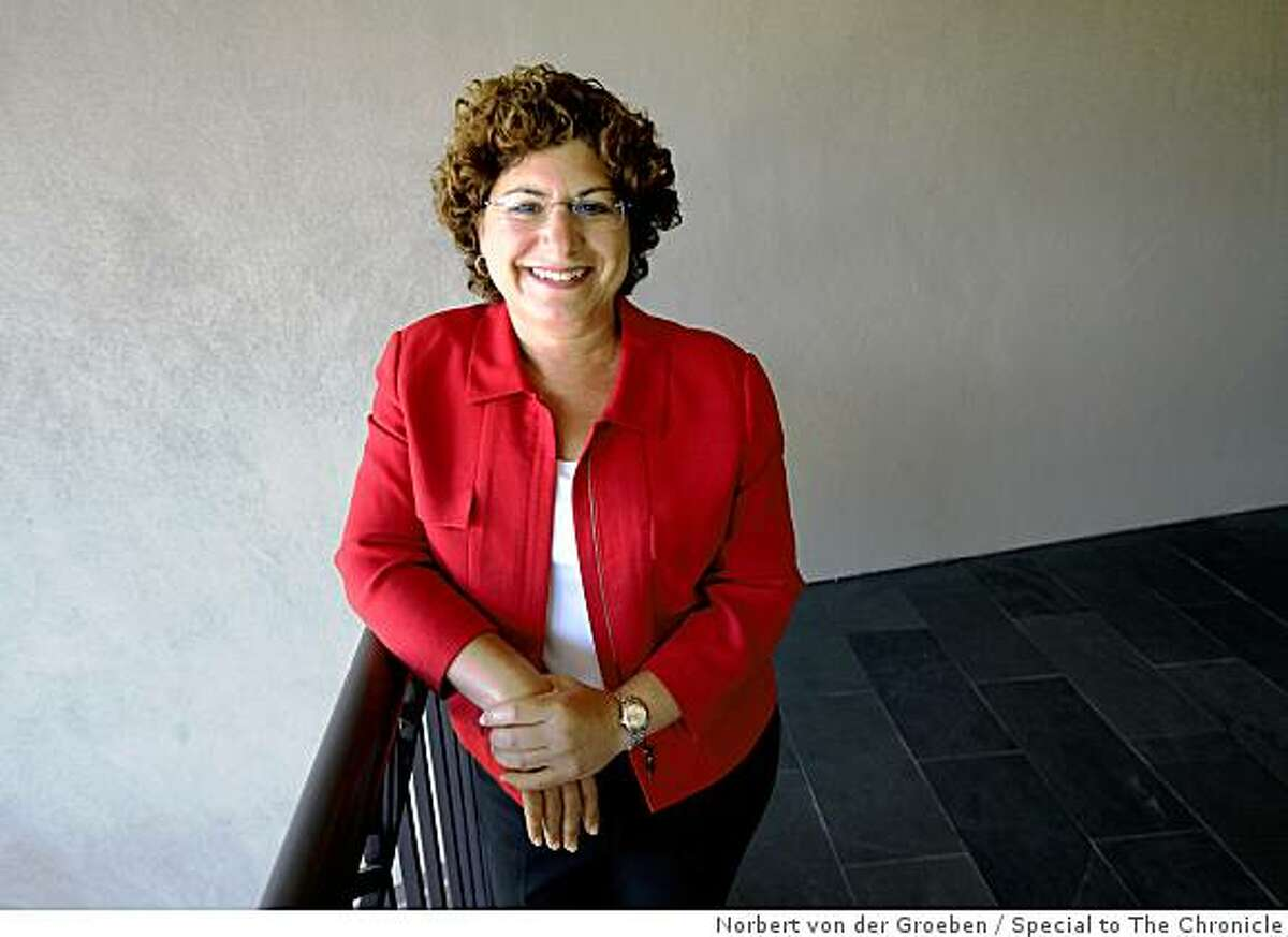 Judy Estrin is one of the rare female entrepreneurs of Silicon Valley and the author of a new book on innovation. Photo taken on Friday, August 22, 2008 in her office in Menlo Park.