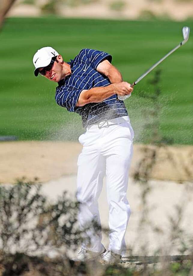 MARANA, AZ - FEBRUARY 19:  Paul Casey of England plays his approach shot on the seventh hole during round three of the Accenture Match Play Championship at the Ritz-Carlton Golf Club on February 19, 2010 in Marana, Arizona. Photo: Stuart Franklin, Getty Images