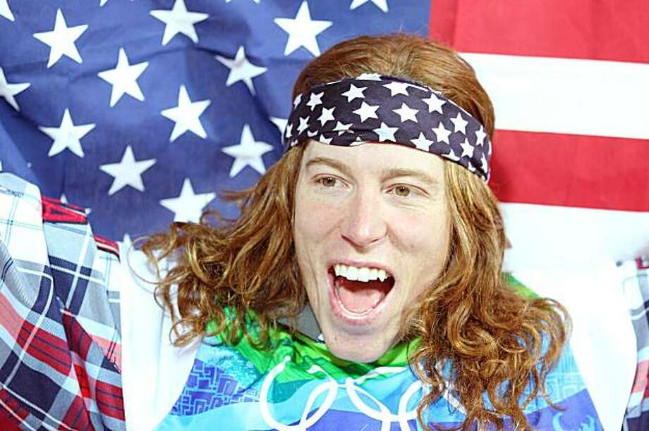 VANCOUVER, BC - FEBRUARY 17:  Shaun White of the United States reacts after winning the gold medal in the Snowboard Men's Halfpipe final on day six of the Vancouver 2010 Winter Olympics at Cypress Snowboard & Ski-Cross Stadium on February 17, 2010 in Vancouver, Canada. White won the gold medal with a score in his previous run. Photo: Cameron Spencer, Getty Images