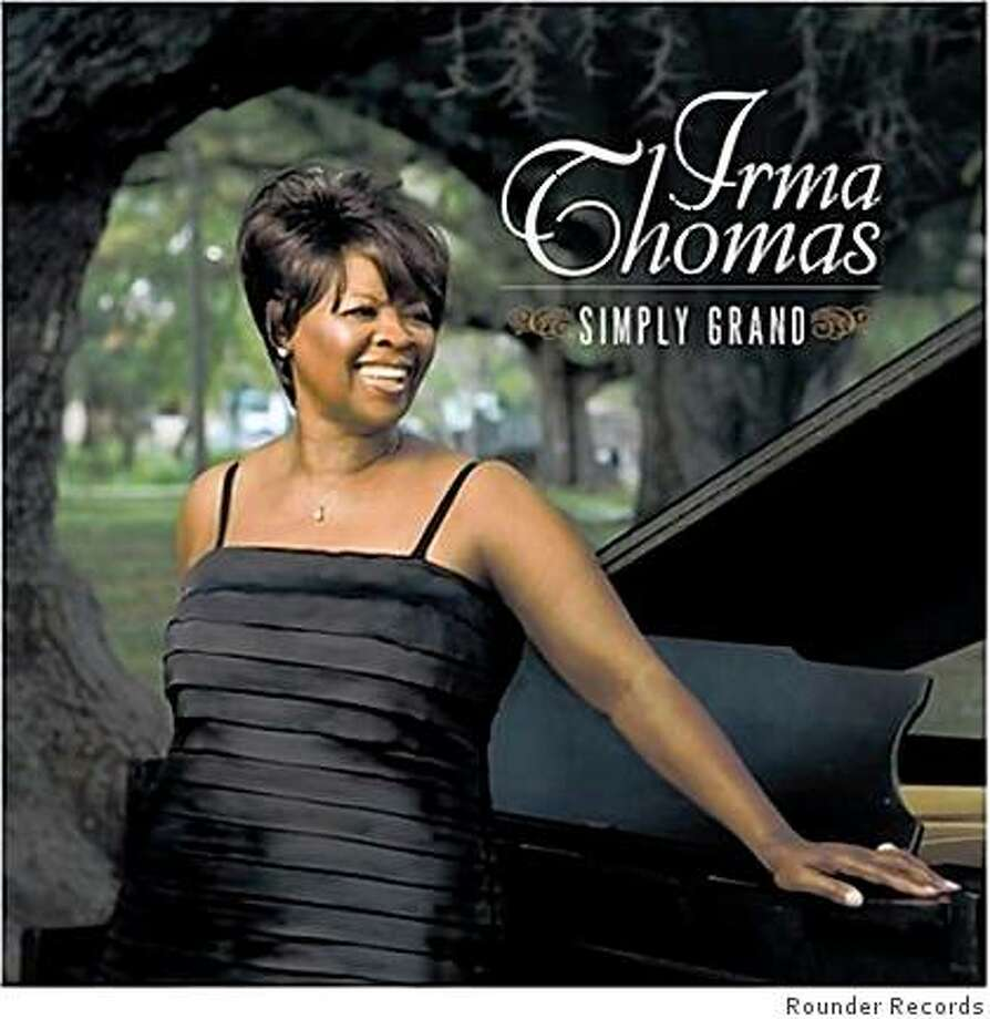 "CD cover: irma Thomas' ""Simply Grand."" Photo: Rounder Records"