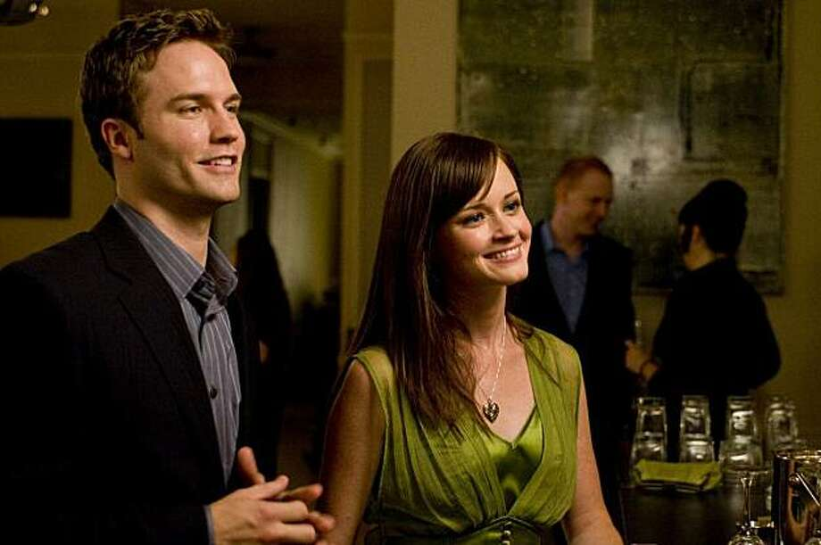 "In this film publicity image released by Roadside Attractions, Scott Porter, left, and Alexis Bledel are shown in a scene from, ""The Good Guy."" Photo: Walter Thomson, AP"