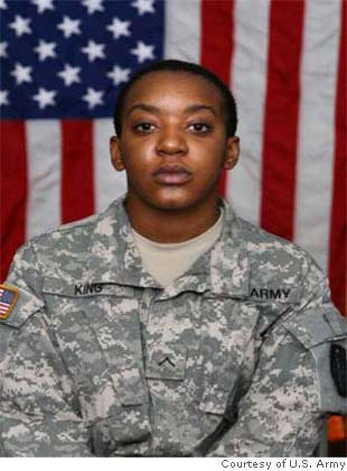 Pvt. Janelle King. Photo: Valued Gateway Customer