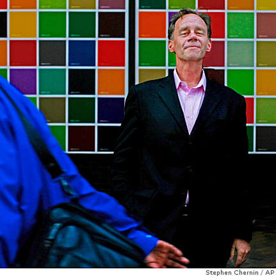 New York Times media columnist David Carr has died at his office at age 58. Photo: Stephen Chernin, AP