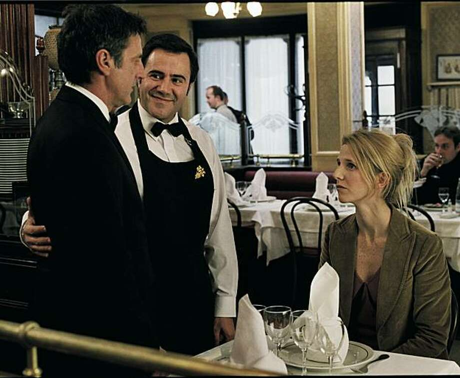 Daniel Auteuil, José Garcia and Sandrine Kiberlain form an unlikely love triangle in Paramount Classics' APRES VOUS, a romantic comedy about making friends, losing loves and finding yourself. Photo: Courtesy, Guy Ferrandis