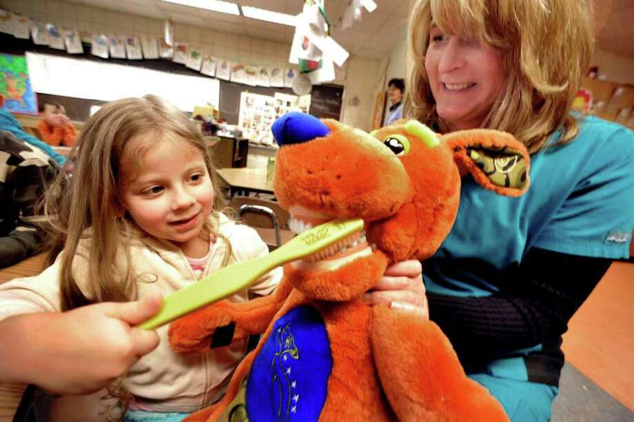 Children devour lesson in tooth care - NewsTimes
