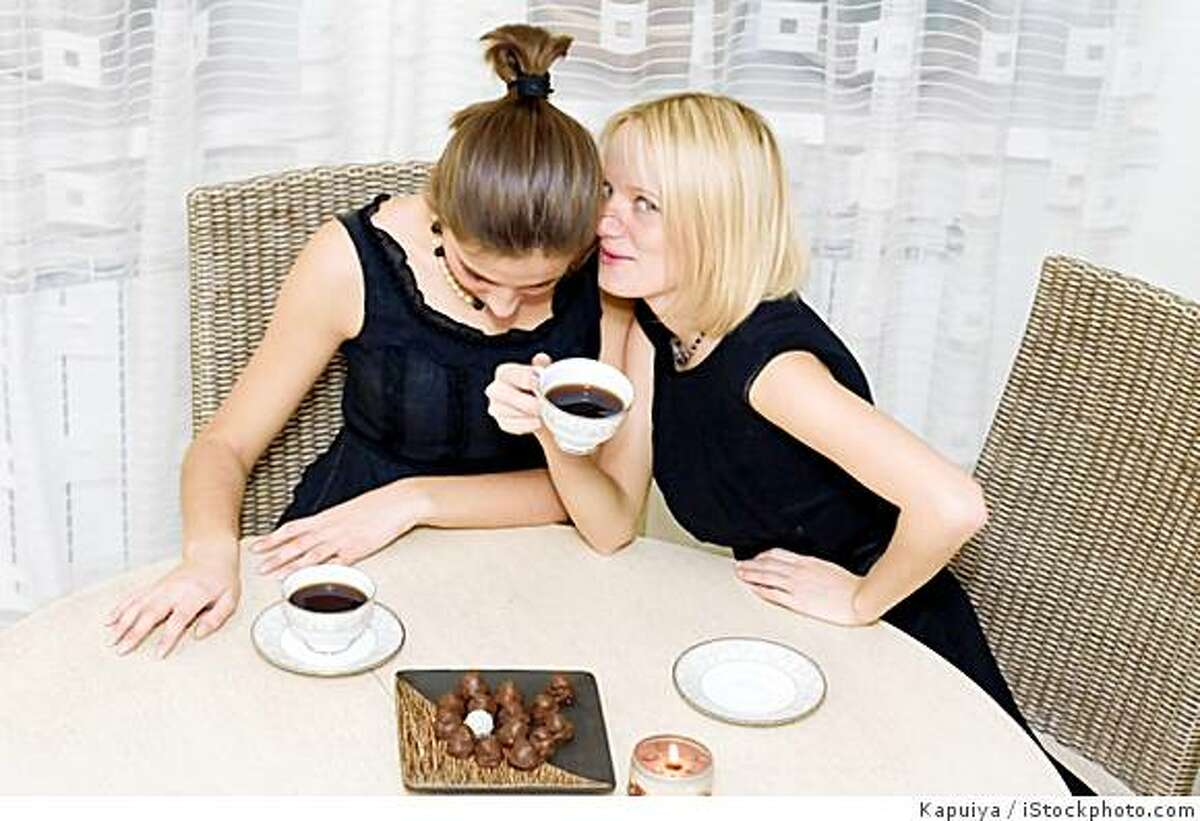 Generic photo of two women having coffee -- Credit: Kapuiya / iStockphoto.com