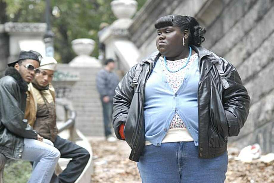 "In this film publicity image released by Lionsgate films, Gabourey Sidibe is shown in a scene from ""Precious."" Photo: Anne Marie Fox, AP"