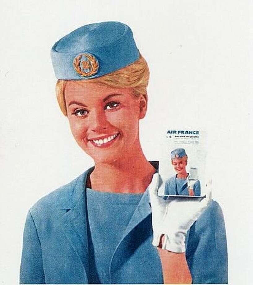 A 1960s Air France stewardess. Photo: Air France