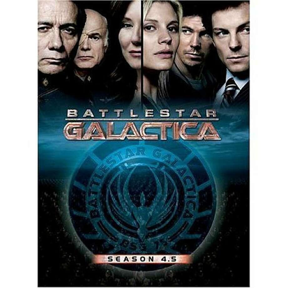 dvd cover BATTLESTAR GALACTICA: SEASON 4.5 Photo: Amazon.com
