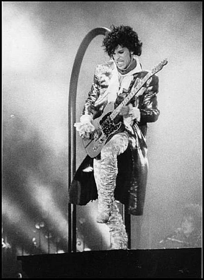 Prince played the Cow Palace in 1985. Photo: The Chronicle,  File 1985