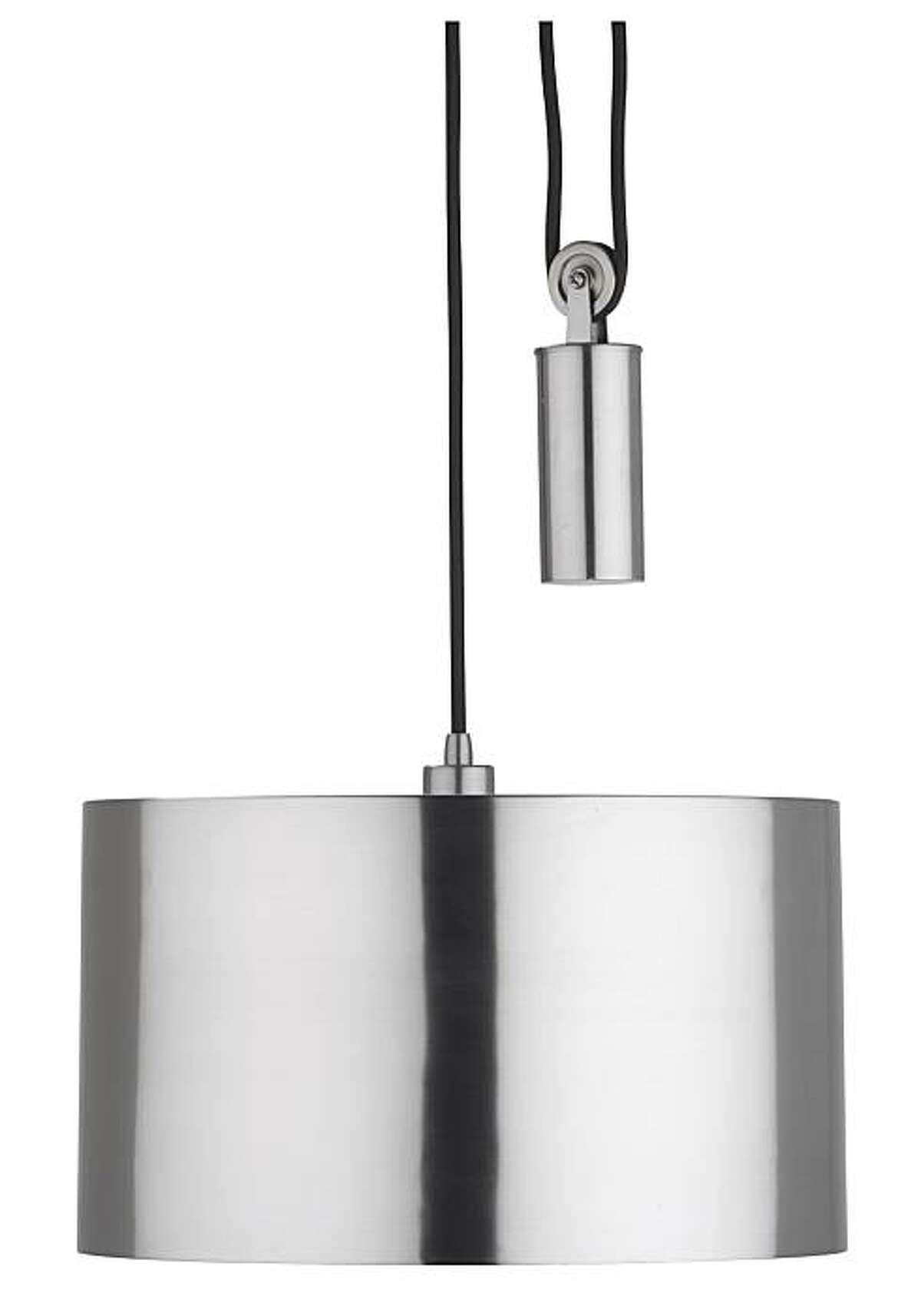 CB2's Pulley Pendant lamp