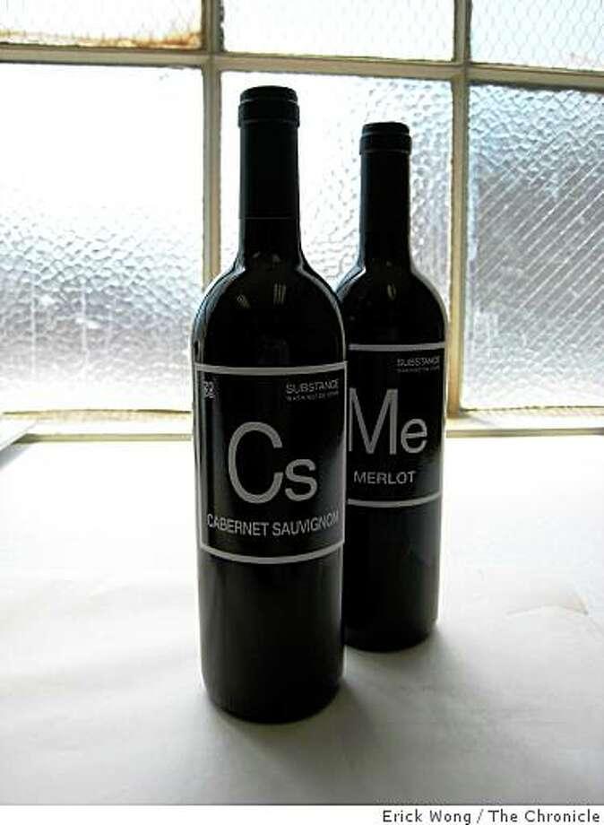 2006 Substance Cabernet Sauvignon and Merlot Photo: Erick Wong, The Chronicle
