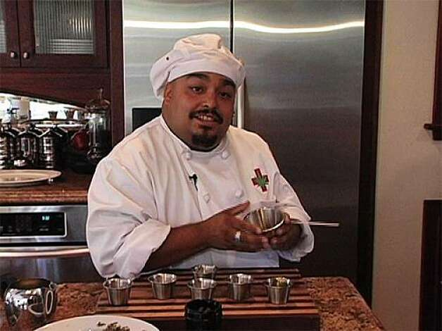 "Michael Delao is the resident chef on ""Cannabis Planet"" Photo: Courtesy Cannabis Planet"