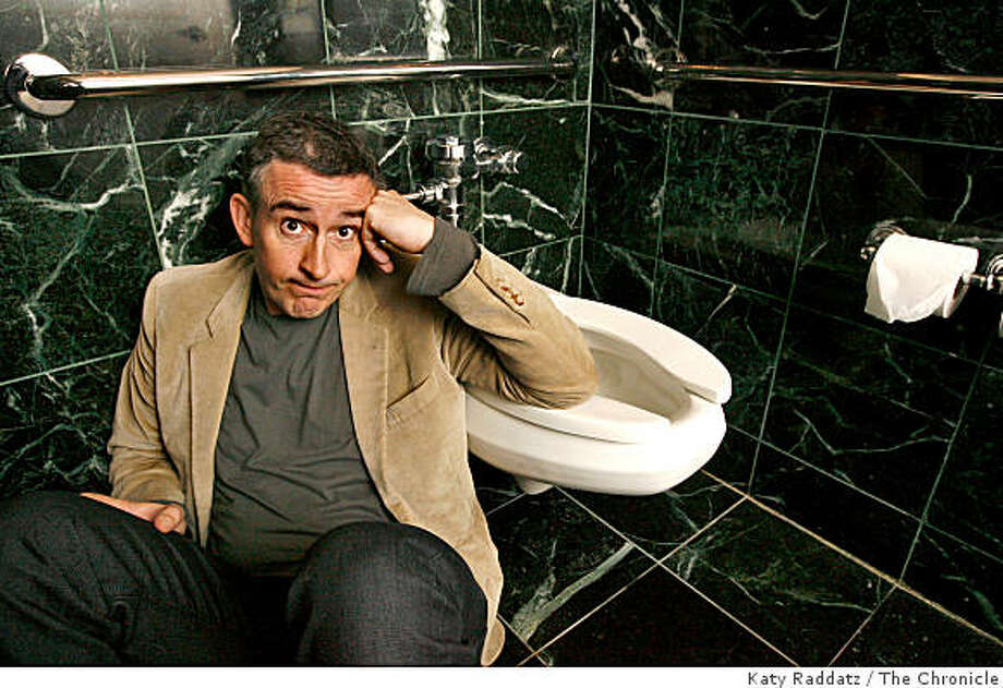 "Steve Coogan is a British actor and comedian with a new movie out called ""Hamlet 2"" which includes a scene in a men's restroom with Steve Coogan playing a beseiged high school drama teacher.  Steve Coogan poses for portraits in San Francisco, Calif. on Monday,  July 28, 2008.Photo by Katy Raddatz / The Chronicle Photo: Katy Raddatz, The Chronicle"