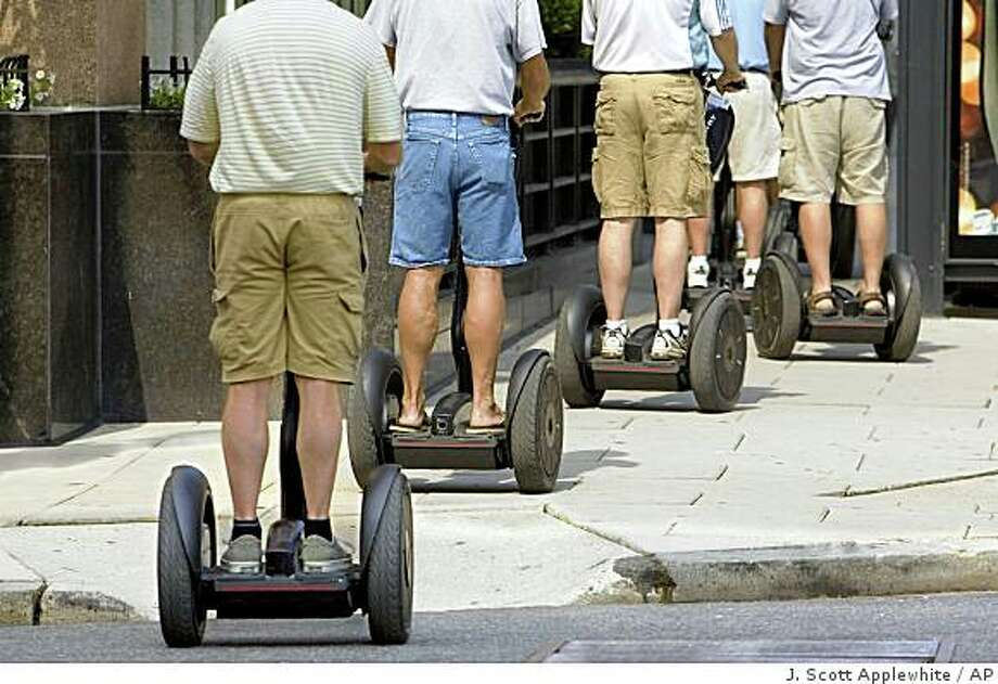 The Segway Personal Transporter Photo: J. Scott Applewhite, AP